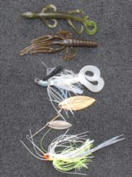 Randall Tharp's winning lures