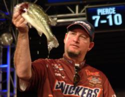 Snickers pro Greg Pugh finished fifth on his home lake and earned $20,000.