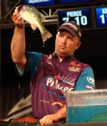 Koby Kreiger caught 22 pounds over the final round and placed third in the Pro Division.