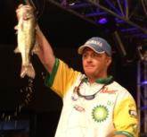 Rookie pro Scott Canterbury earned $50,000 for his second-place finish on Smith Lake.