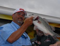 Lex Costas of Daniel Sound, S.C., weighed in 23-7 today and finished fourth with a four-day total of 79-0 worth $6,142.