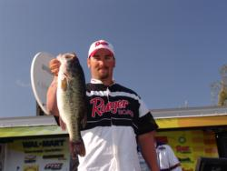 Fishing dropshots and wacky rigged Senkos in the north end of Clear Lake gave Scott Copple a third place finish.