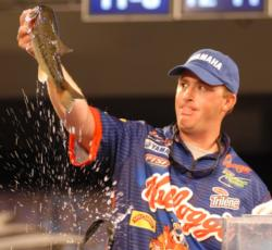 Scott Canterbury of Odenville, Ala., finished in third place with a two-day total of 22 pounds, 5 ounces worth $40,000.