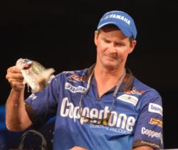 Mike Hawkes of Sabinal, Texas, finished fourth with a two-day total of 17 pounds, 10 ounces worth $35,000.