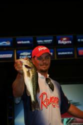 Oklahoma pro Jason Christie caught a limit weighing 8-14 for fourth place.