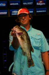 Rocketing up the co-angler standings from 29th to second, Michael Roy