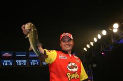 A dead fish penalty denied him critical weight, but Chris Martinovic still landed in third.