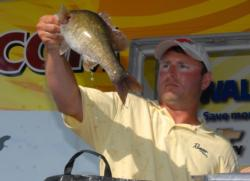 Pro Curt McGuire of Lawrenceburg, Tenn., finished fifth with a four-day total of 62 pounds, 11 ounces worth $5,958.