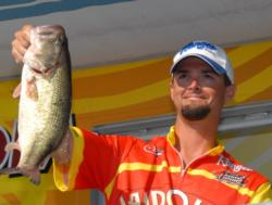 Pro Ryan Rigsby of Hixson, Tenn., finished the event in fourth place with a four-day total of 67 pounds, 9 ounces worth $6,810.
