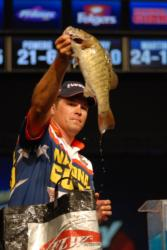 National Guard pro Scott Martin of Clewiston, Fla., finished second with a two-day total of 28 pounds, 7 ounces.