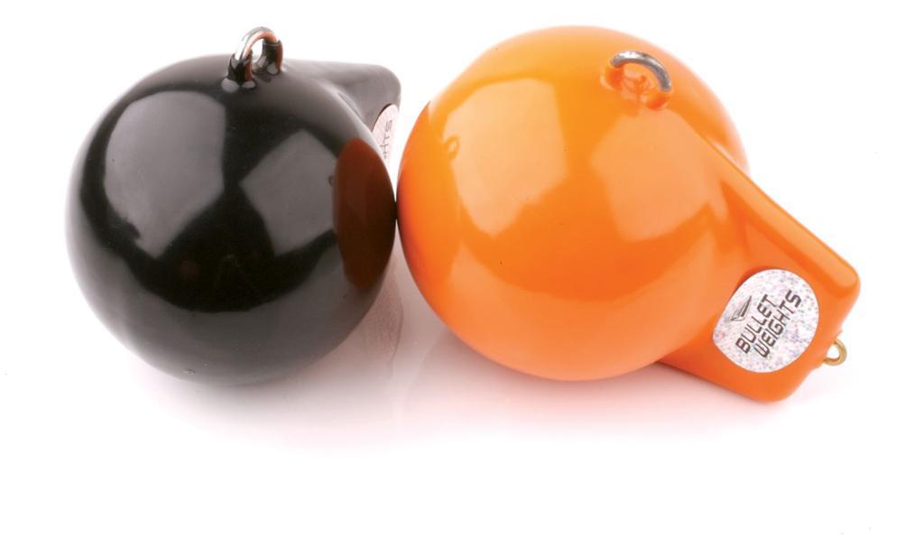 Downrigger showdown flw fishing articles for Balls deep fishing weights