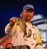 BP pro JT Kenney of Port Charlotte, Fla., finished fifth with a two-day total of 25 pounds, 1 ounce worth $30,000.