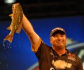 Chevy pro Kim Stricker of Howell, Mich., another St. Clair ace, finished fourth with a two-day of 26 pounds, 4 ounces.