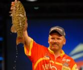 St. Clair expert Mark Modrak of China Township, Mich., rallied to third place on day four with an 18-pound, 11-ounce limit.