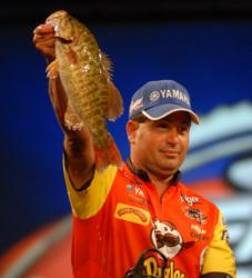 Despite a 19-pound, 7-ounce limit on day four, Pringles pro Vic Vatalaro finished second by a scant 3 ounces.