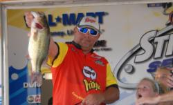 Pro Sam Lashlee of Camden, Tenn., finished the event in fifth place with a four-day total of 66-14 worth $6,242.