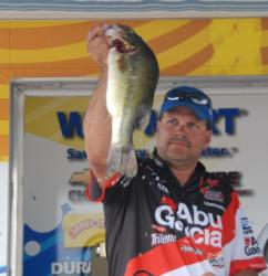 Abu Garcia pro George Jeane, Jr., of Evans, La., finished fourth with a four-day total of 67-13 worth $7,134.