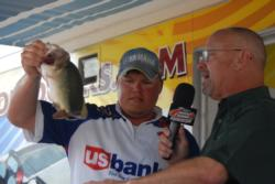 Finishing in the runner-up position was pro Michael Wooley of Collierville, Tenn., who caught a four-day total of 70 pounds, 11 ounces worth $8,917.