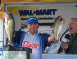 A last-minute feeling to throw a crankbait produced these two tournament winners for Mike Ward.