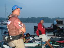 Fourth-place pro Chris Baumgardner and third-place pro Terry Bolton are eager for one last crack at Lake Murray.