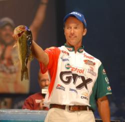 Terry Bolton of Jonesboro, Ark., finished third with a two-day total of 19 pounds, 9 ounces worth $75,000.
