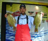 Claiming the Pennsylvania crown is Brent McNeal with a three-day haul of 36-7.