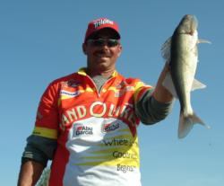 Pro Todd Frank finished the 2008 FLW Walleye Tour Championship in third place.