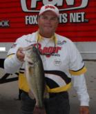 Lendell Martin of Nacogdoches, La., rounds out the top-5 pros with five bass weighing 14 pounds, 7 ounces.
