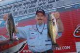 Ricky D. Scott of Van Buren, Ark., is now in contention for his second Stren Series Championship win with a two-day total of 25 pounds, 15 ounces for fifth place.