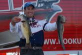 Ott Defoe of Knoxville, Tenn., brought in 14 pounds, 5 ounces worth of largemouths on day two to move into third place with two-day total of 28 pounds, 6 ounces.