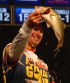Ott Defoe of Knoxville, Tenn., finished fifth with a two-day total of 25 pounds, 13 ounces.