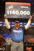 David Curtis added another $155,000 to his FLW Outdoors bank roll.