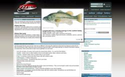 Fishing homepage at FLWOutdoors.com