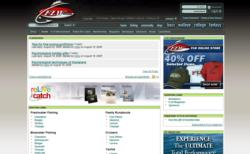Shop homepage at FLWOutdoors.com