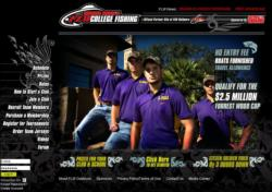 Collegefishing.com homepage