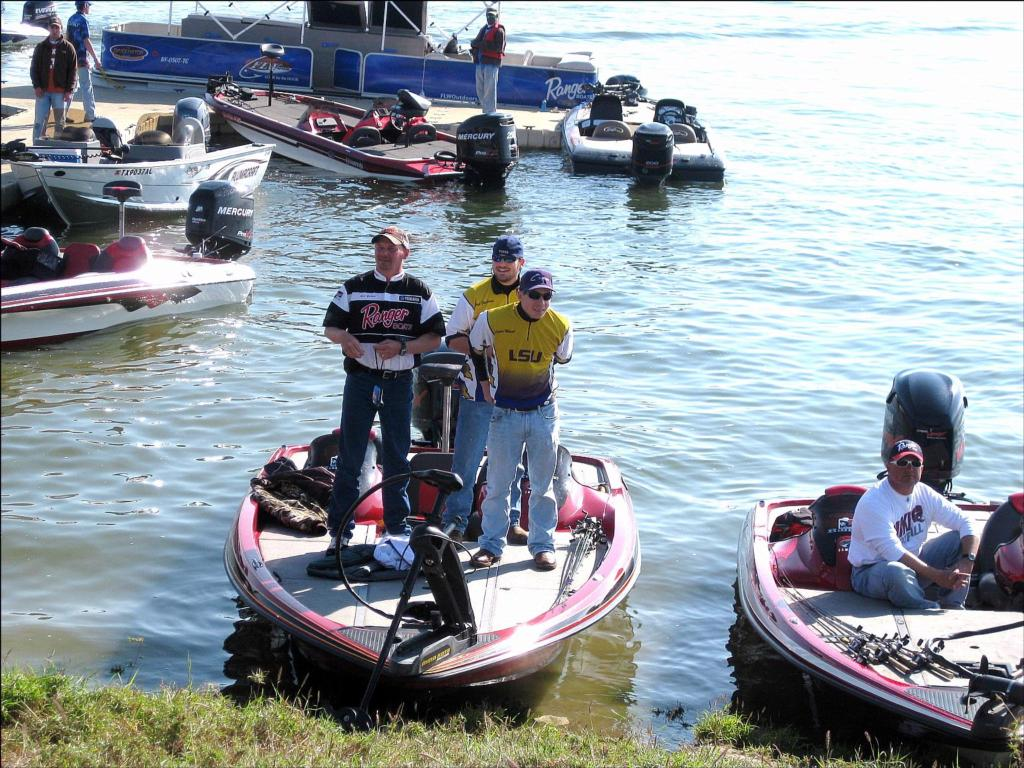 Tarleton state wins college fishing event on falcon lake for Flw college fishing