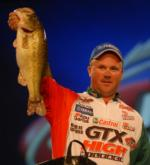 Castrol pro David Dudley of Lynchburg, Va., finished third with a two-day total of 34 pounds, 11 ounces worth $45,000.