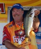 Lake Okeechobee guide Mark Shepard of Clewiston, Fla., finished second with a three-day total of 43 pounds, 13 ounces and collected $9,733.
