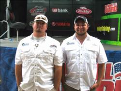 Angelo State teammates Josh Seale of Beckenridge, Texas, and Austin Adcock of Leander, Texas, picked up fifth place at Sam Rayburn with six bass, 15-10, worth $2,000.