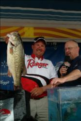 Stephen Johnston had the best final day catch of all pros with 17 pounds, 13 ounces, but it wasn