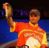 Day three leader Jason Christie of Park Hill, Okla., finished fourth with a two-day total of 18 pounds, 11 ounces worth $35,000.