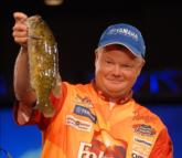 Mark Rose of Marion, Ark., endured another runner-up finish at the Walmart Open with a two-day total of 19 pounds, 13 ounces to earn $55,000.