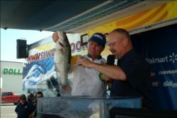 Michael Herron of Paris, Texas, placed fifth in the Pro Division with 45-pounds, 9-ounces.