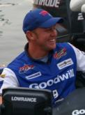 Rookie pro Travis Fox is enjoying his first FLW Tour top 10.