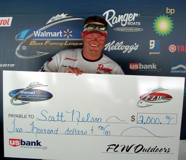 Flw fishing bass fishing league 2010 truman lake for Missouri fishing license walmart