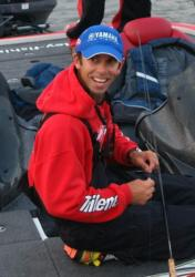 New Jersey pro Michael Iaconelli used Trilene Fluorocarbon en route to a second-place finish at the Forrest Wood Cup.