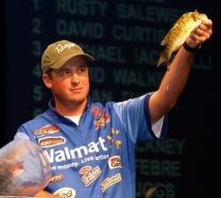 Cody Meyer caught a limit Saturday weighing 5 pounds even, good enough for third place in the Pro Division.