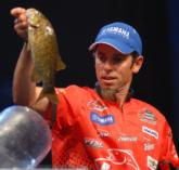 Crowd favorite Mike Iaconelli is still in striking distance in fourth place with 4-12.