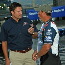 Top pro Rusty Salewske discusses his strategy with FLW