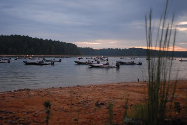 Flw fishing clarks hill lake site of bfl regional for Clarks hill lake fishing report